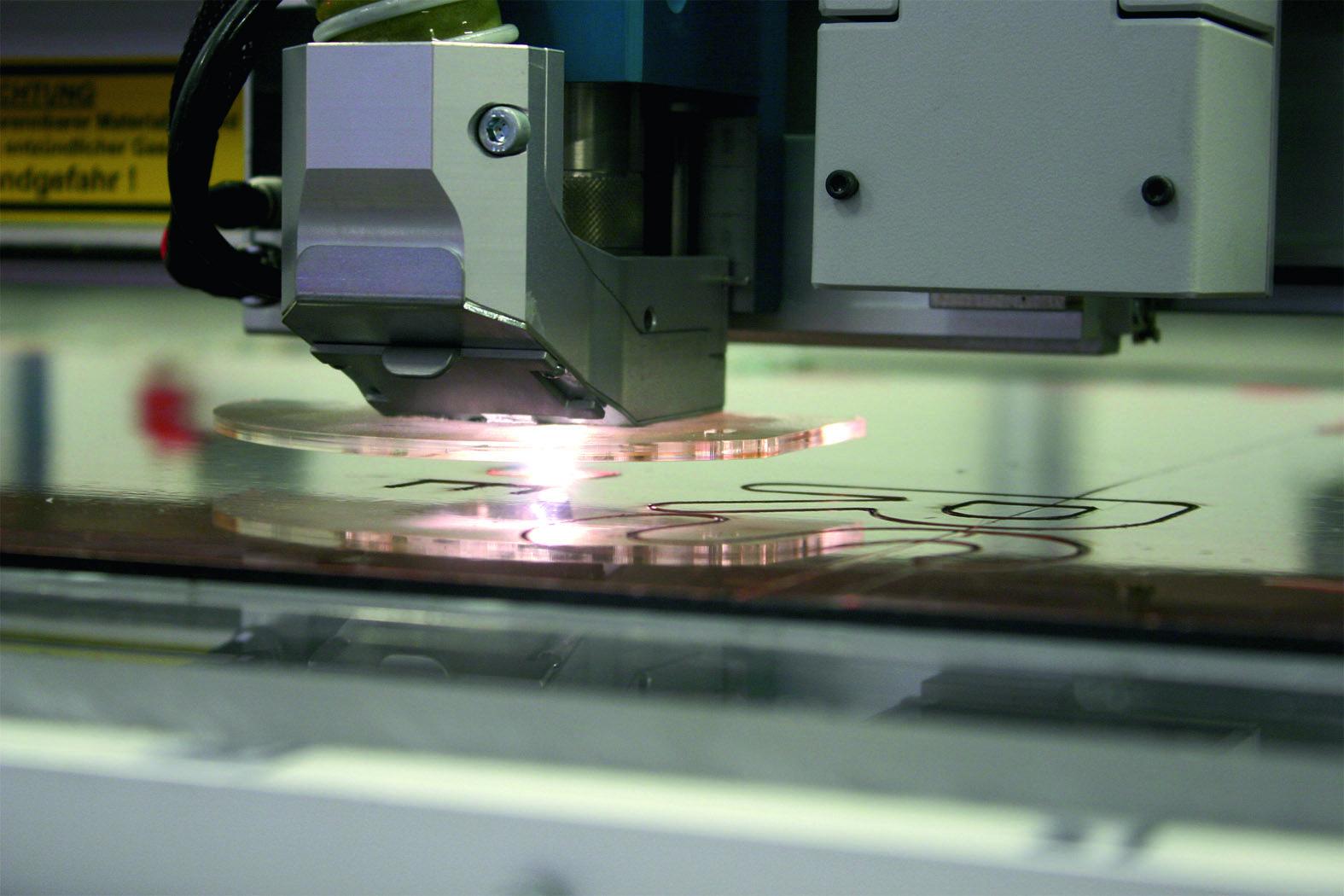 Lasern von Kunststoffen